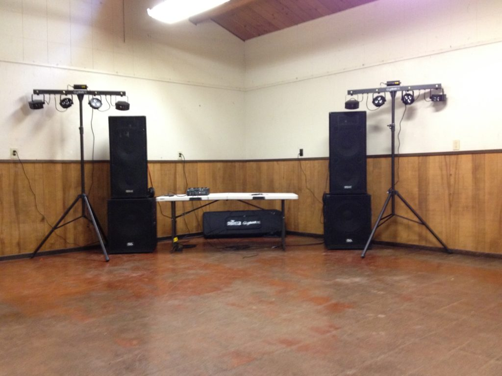 Basic DJ/Lighting Package (YMCA Jones Gulch)
